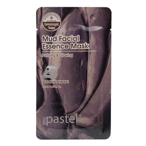 The Pastel Shop Maschera all'essenza facciale il fango, 25 ml di volume attivo
