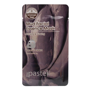 The Pastel Shop Mud Facial Essence Mask, 25ml active liquid
