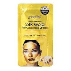 The Pastel Shop Oro 24 carati, con collagene, Peel-Off maschera