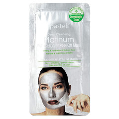 The Pastel Shop Platinum, met Collageen, Peel-Off Mask