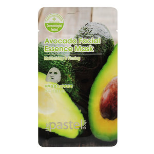 The Pastel Shop Avocado Facial Essence Mask, 25ml active liquid