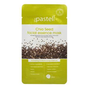 The Pastel Shop Chia Seed Facial Essence Mask, 25ml actieve vloeistof