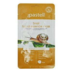 The Pastel Shop Maschera all'essenza facciale al lumaca, 25 ml di volume attivo