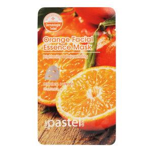 The Pastel Shop Maschera all'essenza facciale al arancione, 25 ml di volume attivo