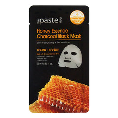 The Pastel Shop Honey Essence Charcoal Black Mask