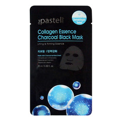 The Pastel Shop Collageen Essence Charcoal Black Mask