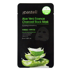 The Pastel Shop Aloe Vera Essence Charcoal Black Mask