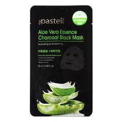 The Pastel Shop Maschera nera antracite a base di essenza di aloe vera