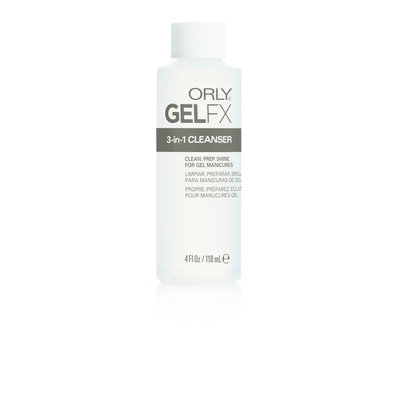 ORLY GELFX 3-in-1 Cleanser 118 ml