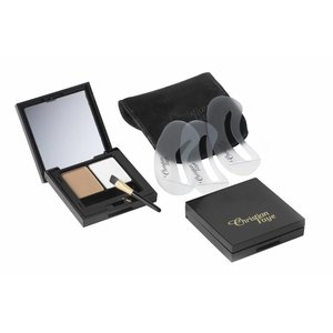CHRISTIAN FAYE Eyebrow Make Up DUO Highlighter set, complete with stencils and brush - Light