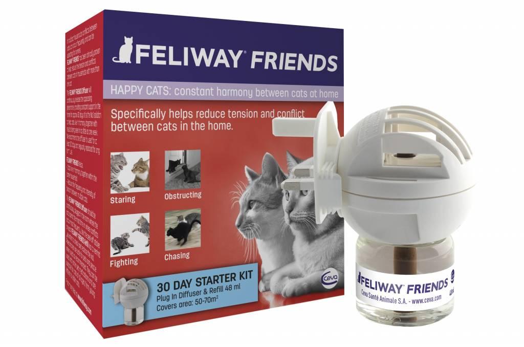Feliway FRIENDS Verdamper voor de kat Navulling