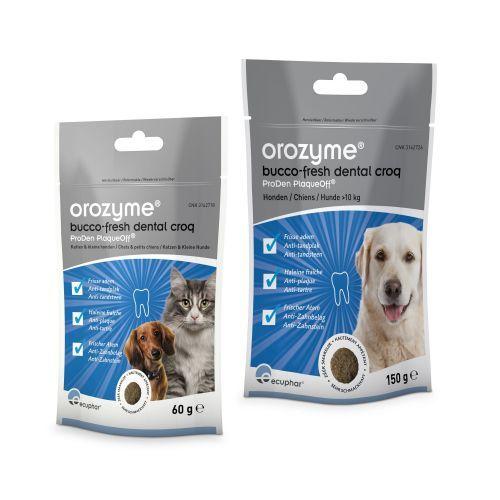 Orozyme Bucco-Fresh Dental Snack Grote Hond 150 gram