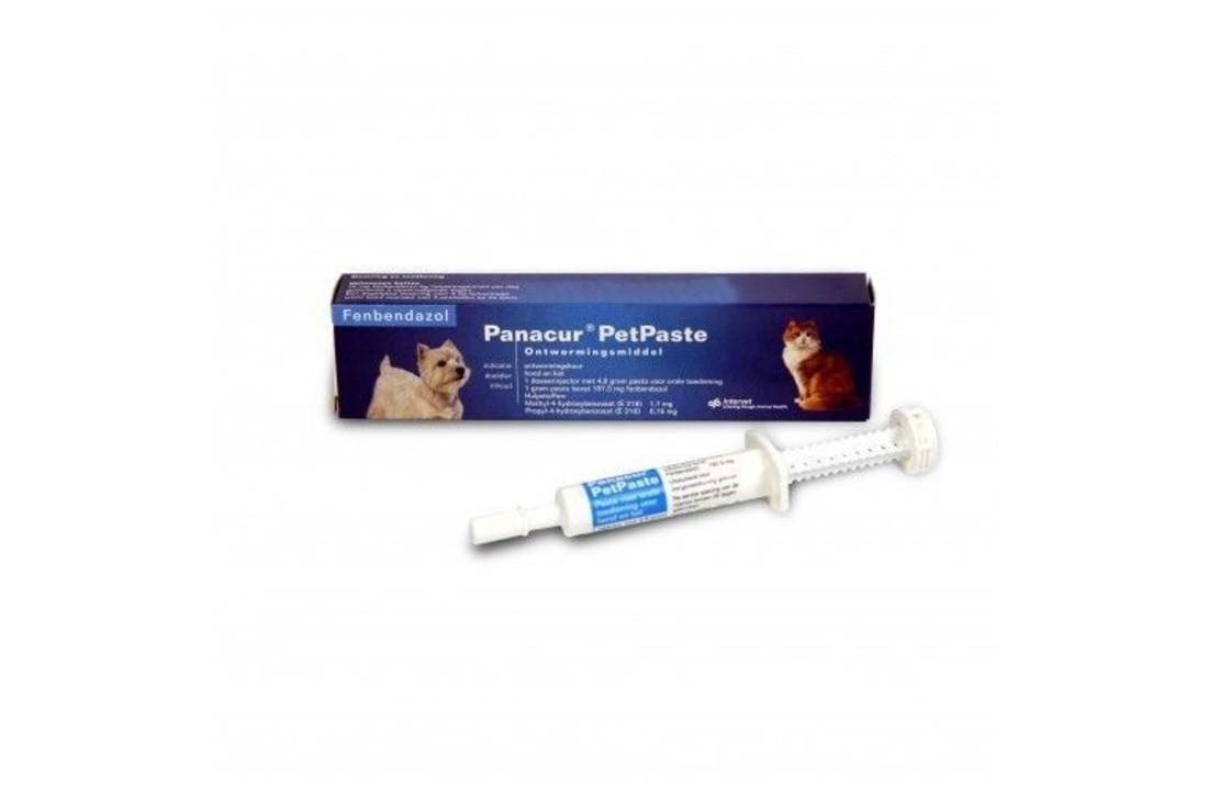 behandeling giardia kat panacur)