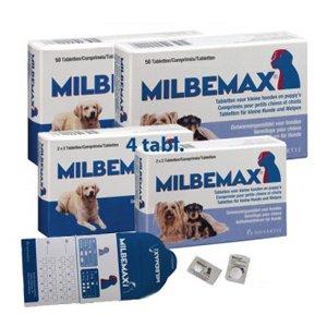 Milbemax kauwtablet ontworming kleine hond-puppy