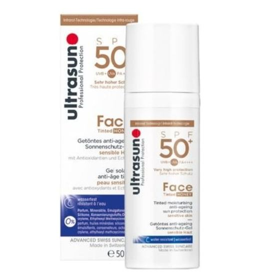 Ultrasun Face Anti-Age SPF 50+ Tinted Honey