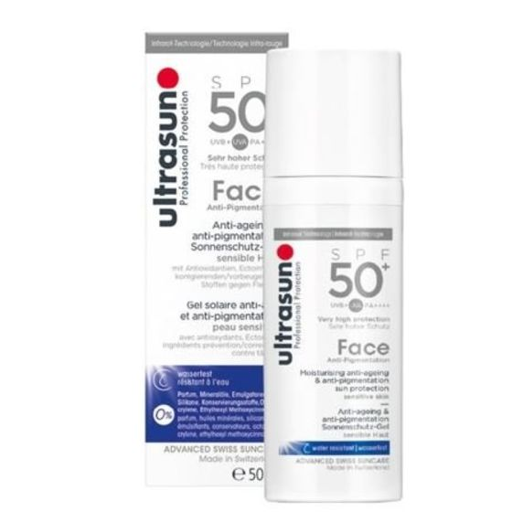 Ultrasun Face Anti-Age and Anti-Pigmentation SPF 50+