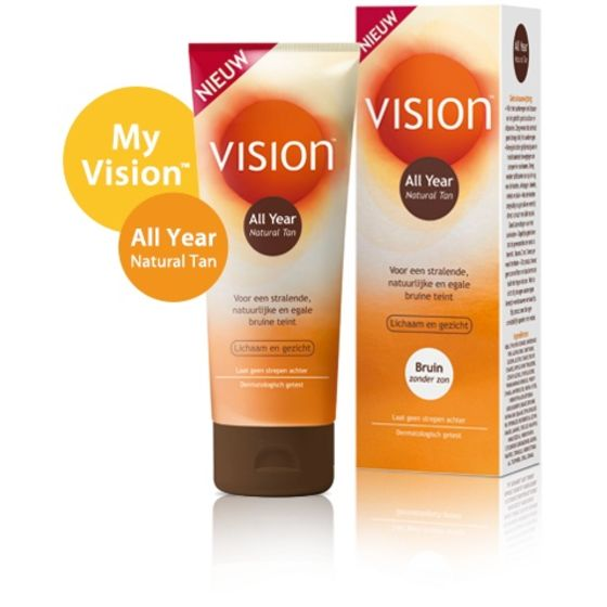 Vision All Year Natural Tan