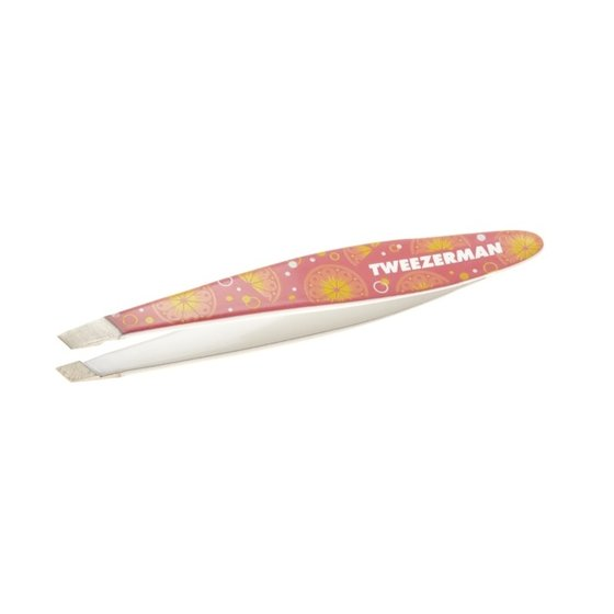 Tweezerman Mini Slant Tweezer Pink Lemonade