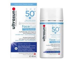 Ultrasun Face Fluid Brightening and Antipollution SPF 50+