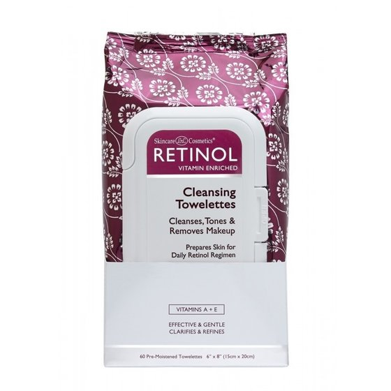 Retinol Anti Aging Cleansing Towelettes