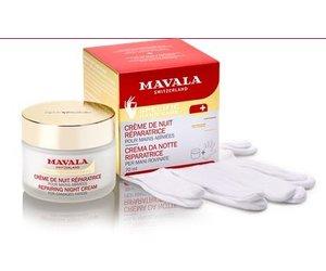 Mavala Night Cream and Handschoenen