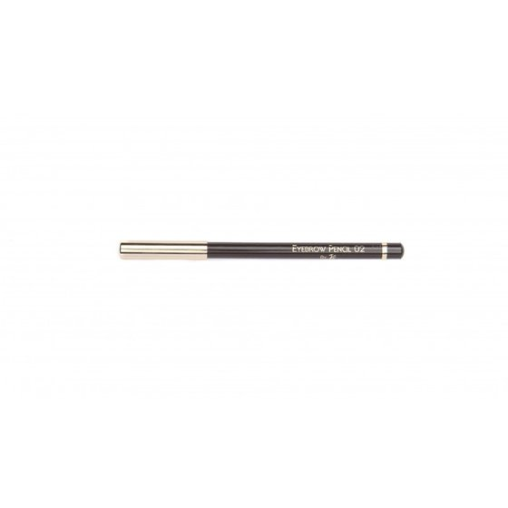 John van G Eyebrow Pencil  02 DonkerBruin