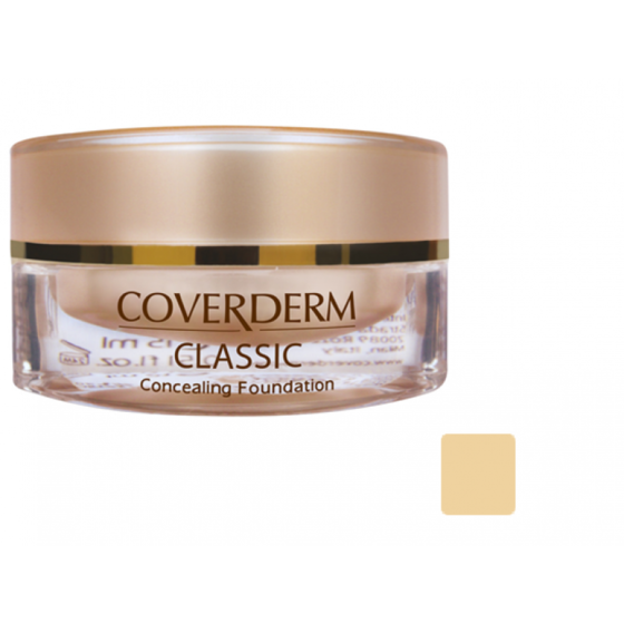 Coverderm Classic Foundation 1