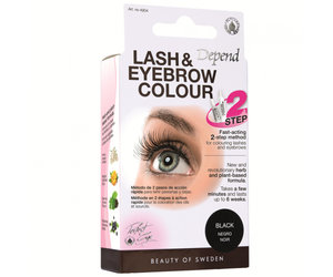 Depend Lash and Eyebrow Colour black