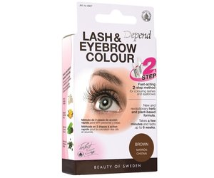 Depend Lash and Eyebrow Colour brown