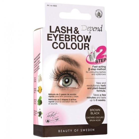 Depend Lash and Eyebrow Colour brown/black