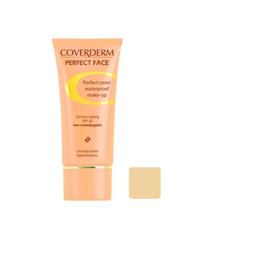 Coverderm Perfect Face Foundation 1