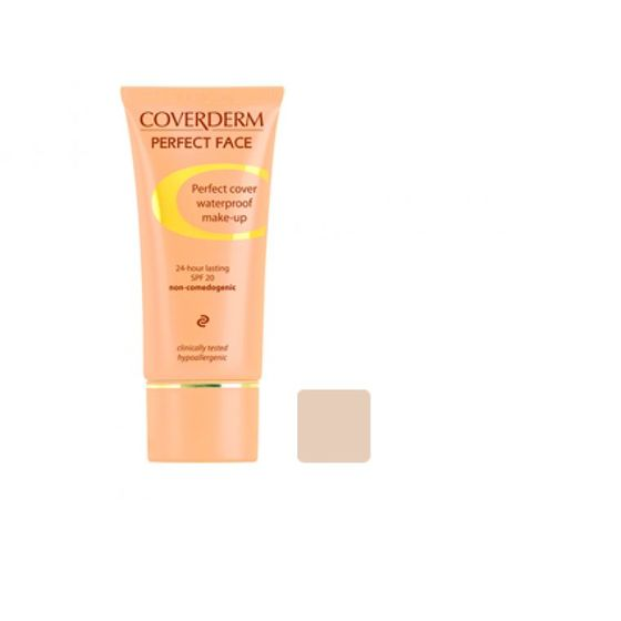 Coverderm Perfect Face Foundation 3