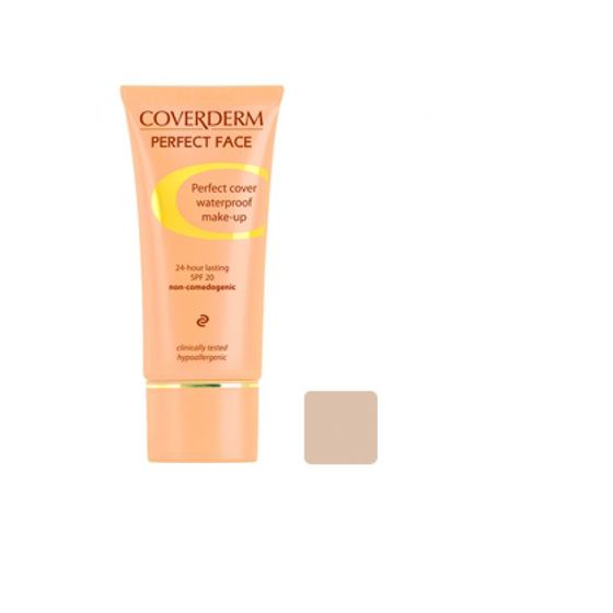 Coverderm Perfect Face Foundation 4
