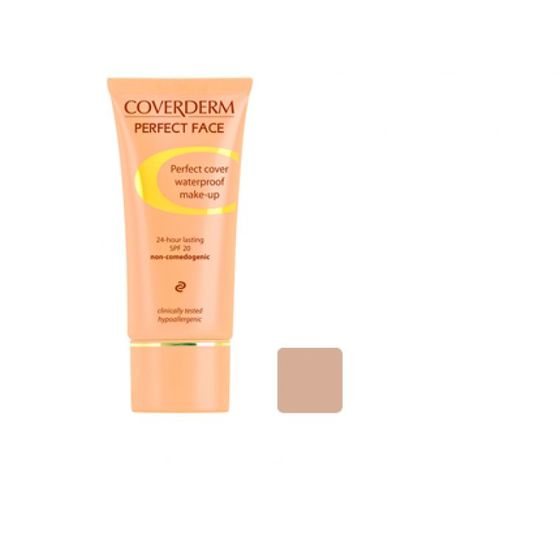 Coverderm Perfect Face Foundation 5