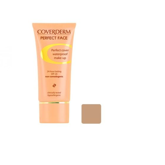Coverderm Perfect Face Foundation 6