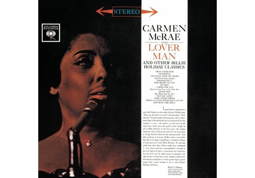Pure Pleasure Records Carmen McRae - Lover Man