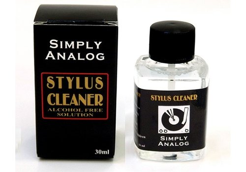 Simply Analog Stylus Cleaner 30 ml alcohol free