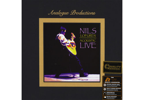 Analogue Productions Nils Lofgren - Acoustic Live