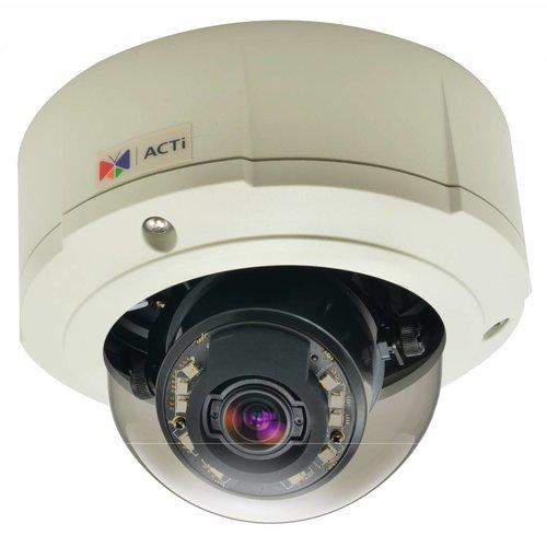 ACTi B81 5 Megapixel outdoor dome camera 3x zoom