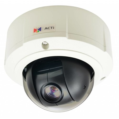 ACTi B96 H.264 5 Megapixel IP outdoor mini PTZ camera