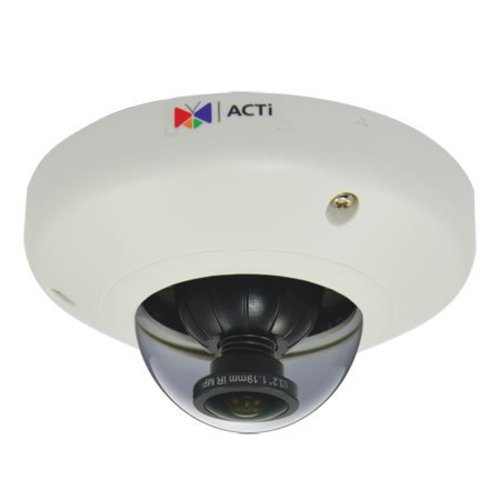 ACTi E96 H.264 5 Megapixel indoor mini dome IP camera