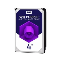 Purple SATA 4TB HDD