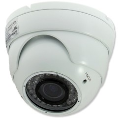 Weerbestendige IR dome camera, 720P, IP65, wit
