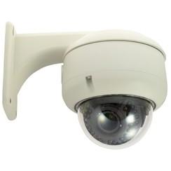 IP IR dome camera with 1080P resolution