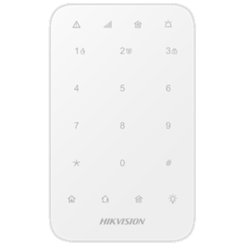 Hikvision DS-PK1-E-WE, AxPro wireless code control panel