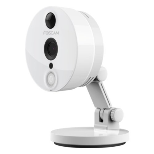 FOSCAM Foscam C2 Full HD 2MP 1080P HD binnen camera met PIR bewegingssensor. Kleur: wit.