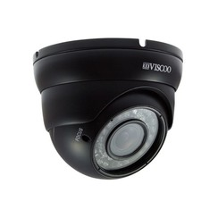 4 in 1 Dome Camera, 1.3MP, 2.8-12 mm. lens, zwart