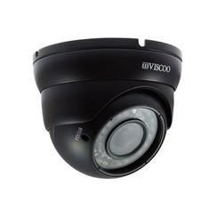 4 in 1 Dome Camera, 1.3MP, 2.8-12 mm. lens, zwart