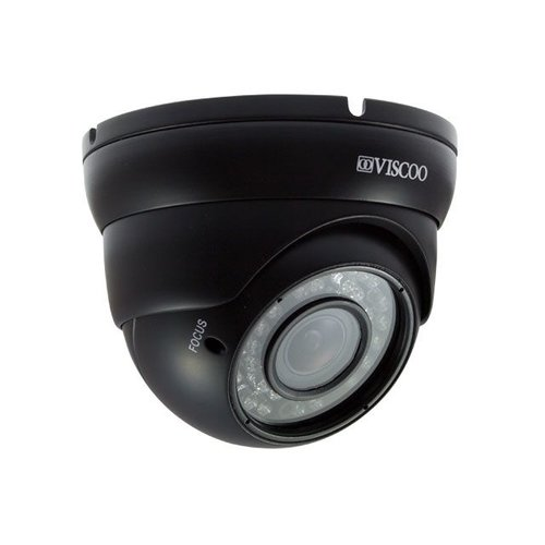 Viscoo 4 in 1 Dome Camera, 1.3MP, 2.8-12 mm. lens, zwart
