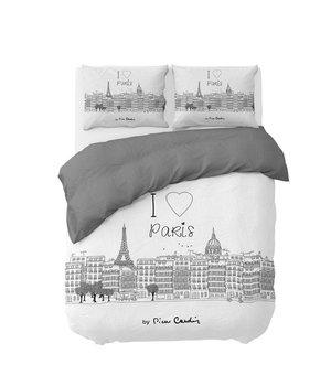 Pierre Cardin dekbedovertrek katoen ''Parijs'' wit